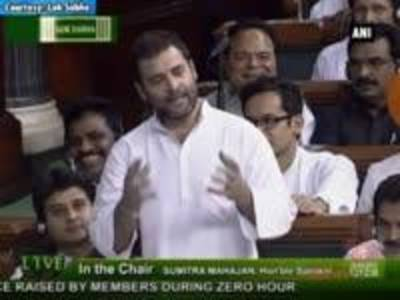 News video: No one 'makes in India' more than farmers: Rahul Gandhi